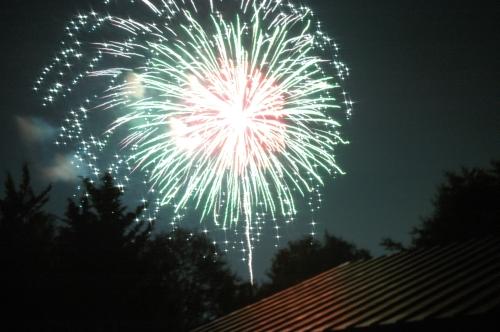 飯綱火祭りの花火